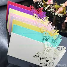 name wedding invitation material cardboard size 12 9cm spread out 9 6cm folded color white pink green purple red yellow blue