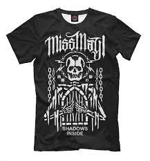 Miss May I Shadows Inside T Shirt Metal Band High Quality Tee Mens Womens Sizes
