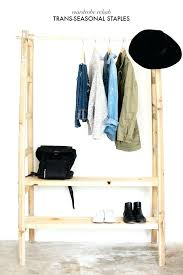 stand alone shelves. Stand Alone Coat Rack Keep Your Wardrobe In Check With Freestanding Clothing Racks Standalone Clothes Shelves