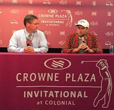 """PGA TOUR Communications on Twitter: """"2015 @CrownePlazaInv winner Chris Kirk  fields questions from media in his winner's conference. @PGATOUR  http://t.co/4qdRUyhagZ"""""""