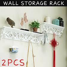 2pcs floating shelves wall shelf