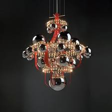 quasar lighting. luxury suspension lighting quasar royal bb red from bb by edward
