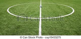 green grass soccer field. Green Grass Texture In Soccer Field D