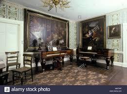 revolutionary war era music room Stock ...
