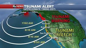 Tsunami program and the nation's preparedness efforts. Tsunami Warning In Alaska After Powerful Earthquake Video Abc News