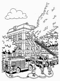 Small Picture Awesome Firefighters Coloring Pages Images At Firefighter Page
