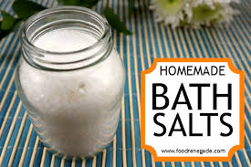 bath salts recipe epsom dead sea salts with frankincense lavender