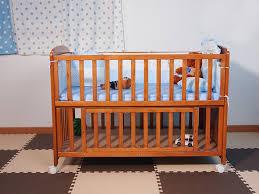 wooden baby cribs zhishang crib modern bed cot solid 7
