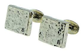 8 year anniversary bronze cufflinks with 8 sted into bottom right hand 8th wedding anniversary gift idea amazon co uk jewellery