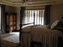 Vorhänge Schlafzimmer Süße Hölzerne Hohe Himmelbett Mit Weißen