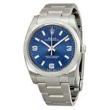 rolex oyster perpetual 34 blue dial stainless steel rolex oyster rolex oyster perpetual 34 blue dial stainless steel rolex oyster automatic men s watch 114200blaso