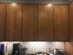 full overlay cabinet door each