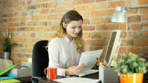 call center agent calling to customer about bank loan stock footage 22235977 shutterstock