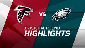 Atlanta Falcons vs. Philadelphia Eagles highlights   NFC Divisional ...