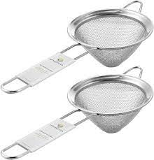Choose from contactless same day delivery, drive up and more. Amazon Com 2 Pcs Fine Mesh Sieve Strainer Stainless Steel Double Cocktail Strainer Coffee Strainers Tea Strainer With Long Handle Double Straining Utensil 3 3 Inch By Homestia Kitchen Dining