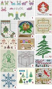 Chart Cross Stitch Free Free Cross Stitch Charts Christmas Needle Work