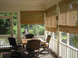 outdoor blinds for screen porch