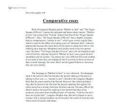 How To Write A Comparison Contrast Essay Familycourt Us