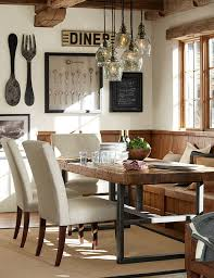 rustic wall decor ideas for dining room