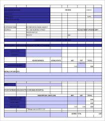 Construction Invoice Template Cool Blank Invoice Template 48 Free Sample Example Format Free