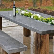 cement furniture. Use Concrete For Durable Outdoor Furniture Cement L