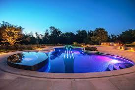 inground pools at night. Inground Pools At Night H