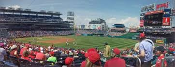 Washington National Seating Chart Views Nationals Park Section 133 Row Kk Home Of Washington