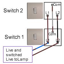 2 way circuit diagram