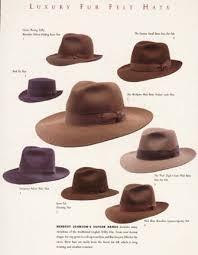 """Tweedland"""" The Gentlemen's club: 'The Poet' hat made by Herbert Johnson /  Video below: Indiana Jones Herbert Johnson Fedora Hut"""