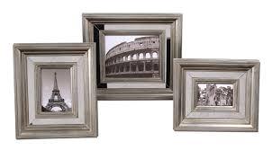 silver antique picture frames. Uttermost Hasana Antique Silver Photo Frame Set/3 Picture Frames