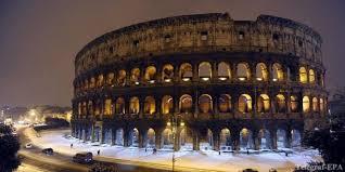 Колизей величественная памятка Древнего Рима Дикий Дикий Мир реставрация колизея