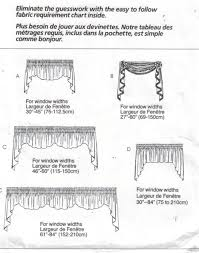 Curtain Sewing Patterns Interesting McCalls Pattern 48 Home Dec In A Sec Curtain Valances Sewing