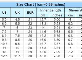 Chinese Shoe Size Shoes Collections