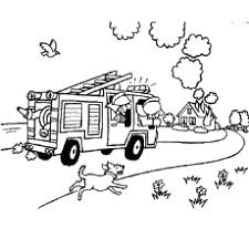 Small Picture Firefighter Coloring Pages Free Printables MomJunction