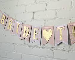 Bride-to-Be Banner - Bridal Shower Banner - Pink Bridal Shower - Bridal