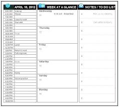 work plan examples work plan schedule template