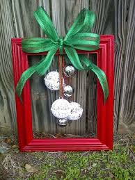20 create a picture frame xmas decoration