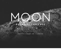 Free Typefaces For Designers Moon Updated On Behance