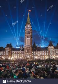 Lighting Stores Ottawa Ontario Northern Lights Light And Sound Show With Crowd At