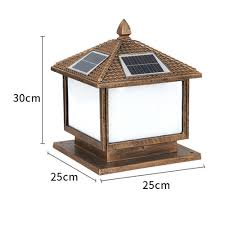 Pillar Solar Lights For Outdoors Chinese Style Outdoor Solar Powered 9 Led 1 5w Garden Gate Post Pillar Night Lamp Light Buy Solar Led Gate Lamp Solar Led Pillar Light Solar Lights