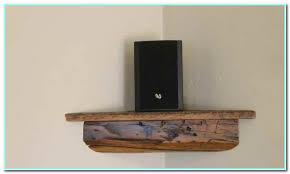 corner wall mount speaker shelf
