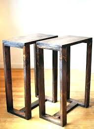 Small Table For Bedroom Bedroom End Tables Narrow Side Tables For Bedroom  Slim Bedside Table Small . Small Table For Bedroom ...