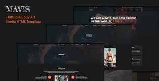 Artist Website Templates Extraordinary HTML Artist Website Templates From ThemeForest