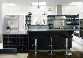 modern minimalist frosted glass kitchen table with black armless awesome apartment kitchens decoration design dark grey island tree metal bar stools