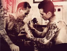 Blood Brothers Vintage Tattoo русские тюремные тату ретро