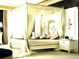 Blackout Bed Canopy Black Canopy Bed Curtains Black Canopy Bed ...