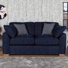 lorna navy fabric 2 seater sofa costco uk