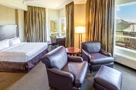 One Bedroom Balcony Suite Signature Grandview Suites The Rimrock Resort Hotel Banff National Park