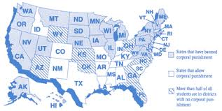 punishment in the usa these 29 states have now banned corporal punishment