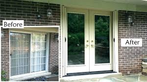 glass entry doors replacing glass door replacing sliding doors with french org replace glass door plans